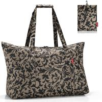 Сумка складная Mini maxi travelbag baroque taupe, Reisenthel