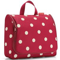 Сумка-органайзер Toiletbag XL ruby dots, Reisenthel