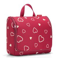 Сумка-органайзер toiletbag xl hearts, Reisenthel